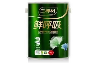 鲜呼吸抗甲醛净味全效墙面漆